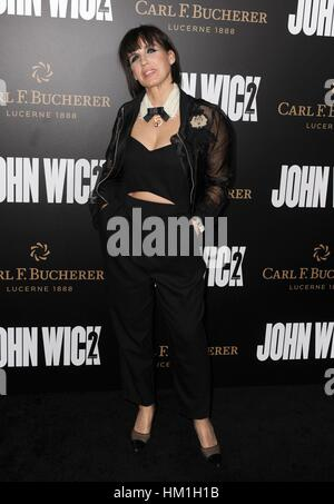 Los Angeles, CA, USA. 30th Jan, 2017. Pascal Pakter at arrivals for JOHN WICK: CHAPTER TWO Premiere, Arclight Hollywood, - Stock Photo