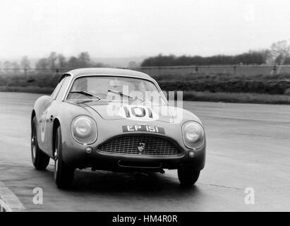 Aston Martin DB4 GT Zagato - Stock Photo