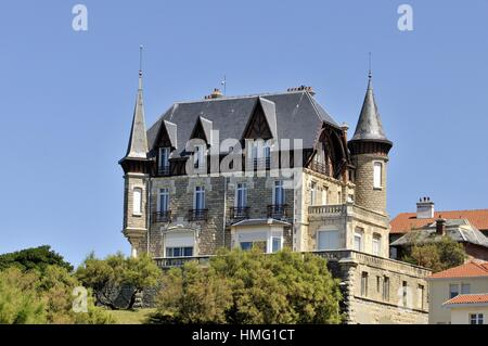 aquitaine region biarritz stock photo royalty free image 29964877 alamy. Black Bedroom Furniture Sets. Home Design Ideas