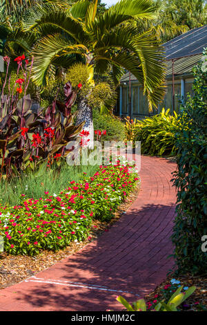 Usa Florida Sarasota Fl Marie Selby Botanical Gardens
