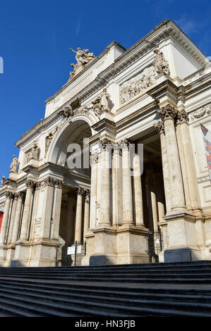 City hall and steps in rome italy stock photo royalty for Palazzo delle esposizioni rome italy