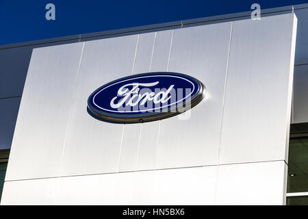 Ford motor company dearborn truck plant stock photo for Lincoln motor company corporate headquarters