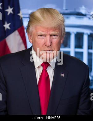 President of the United States Donald Trump - Stock Photo