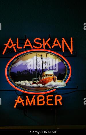 alaskan amber. Gustavus, Alaska - Stock Photo