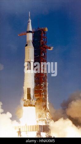 SATURN ROCKET LAUNCH APOLLO 11 (1969) - Stockfoto