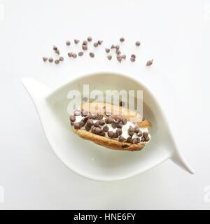 Ice-cream Sandwich - Stock Photo