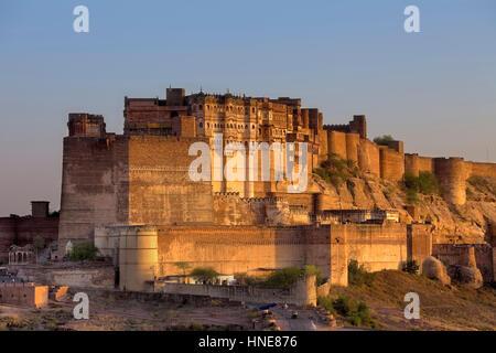 Mehrangarh Fort,Jodhpur, Rajasthan, India - Stockfoto