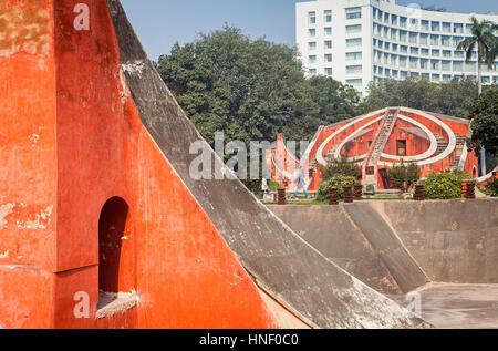 Jantar Mantar, Delhi, India - Stockfoto