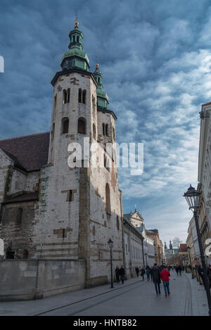 Cathedral Church Of Saint Florian In Praga District Of