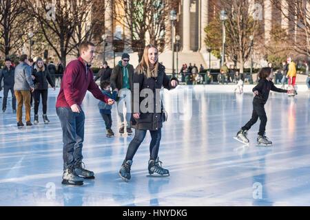 Couple Falling While Ice Skating Stock Photo Royalty Free Image 81828670 Alamy