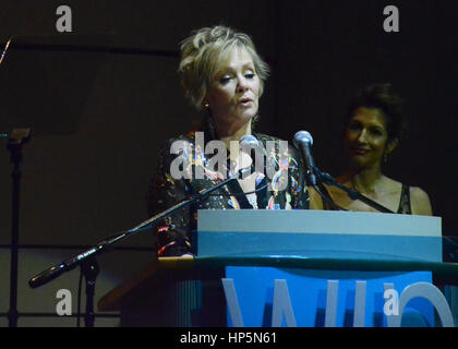 Los Angeles, California, USA. 17th Feb, 2017. Jean Smart spoke at the 18th Annual Women's Image Awards at Skirball - Stock Photo