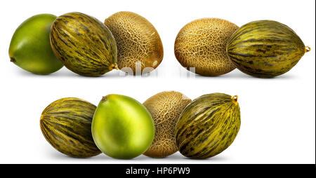 Melon isolated on white - Stock Photo