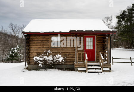 small wooden log hut on waterfront stock photo royalty free image 16733244 alamy. Black Bedroom Furniture Sets. Home Design Ideas