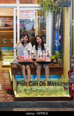 Night market in siem reap cambodia stock photo royalty for Fish spa near me