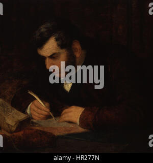 Sir Anthony Panizzi by George Frederic Watts - Stock Photo