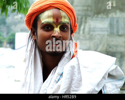 Young Sadhu, HolyMan, India (Photo Copyright © by Saji Maramon) - Stock Photo
