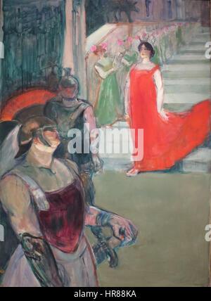 Toulouse-Lautrec, Henri - Messalina - Stock Photo