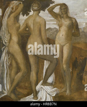 Watts George Frederic The Judgement Of Paris - Stock Photo