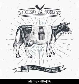 beef cuts  animal silhouette cow  bull  vector diagram for