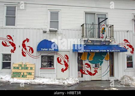 Sign for the harbor fish market portland maine usa for Portland fish market