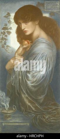 Prosperine by Dante Gabriel Rossetti - Stock Photo
