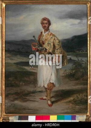 a biography of eugene delacroix a nineteenth century nationalist romantic artist From the national gallery, london, eugène victor ferdinand delacroix, self portrait (1837), oil on canvas, 65 × 545 cm.