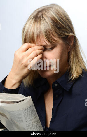 Headache - Stockfoto