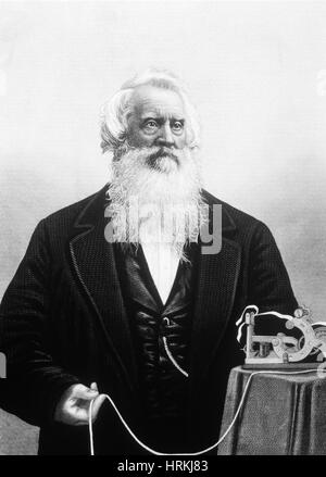 Samuel Morse, American Inventor - Stock Photo