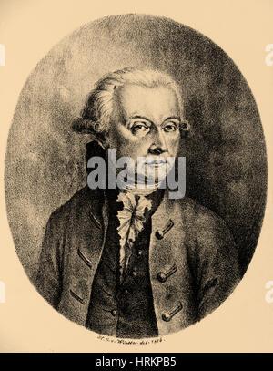 Wolfgang Amadeus Mozart, Austrian Composer - Stock Photo