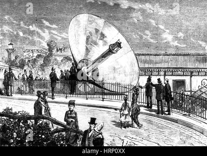 Mouchot Solar Concentrator, 1878 - Stock Photo