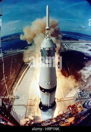 Apollo 11 Launch, 1969 - Stockfoto