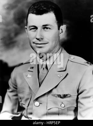 Chuck Yeager, USAF Officer and Test Pilot - Stockfoto