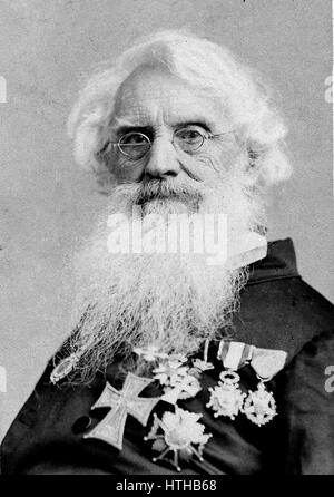 SAMUEL MORSE (1791-1872) American inventor after whom the Morse Code is named - Stock Photo