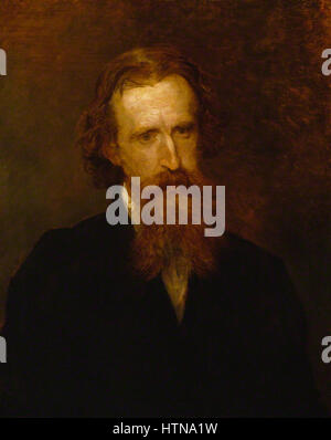 Sir Leslie Stephen by George Frederic Watts 1878 - Stock Photo