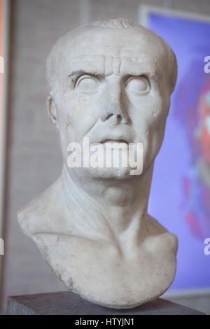 Roman statesman Gaius Marius (157-86 BC), commonly known as Marius. Free copy (probably from about 40 BC) after - Stock Photo