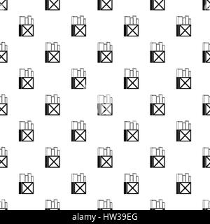 School chalk pattern, simple style - Stock Photo