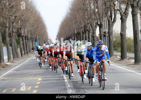 18 March 2017 108th Milano - Sanremo BONNET William (FRA) FDJ  Photo: Cronos/Yuzuru Sunada - Stock Photo