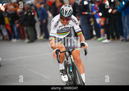18 March 2017 108th Milano - Sanremo SAGAN Peter (SVK) Bora - Hansgrohe, at Poggio  Photo: Cronos/Yuzuru Sunada - Stock Photo