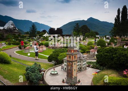 Swissminiatur melide canton ticino switzerland stock for M park geneve