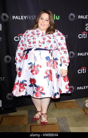 Los Angeles, CA, USA. 18th Mar, 2017. Chrissy Metz at arrivals for THIS IS US at 34th Annual Paleyfest Los Angeles, - Stock Photo