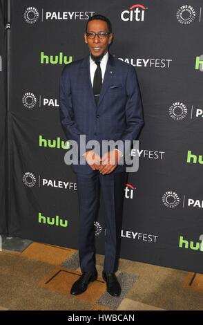 Los Angeles, CA, USA. 18th Mar, 2017. Ron Cephas Jones at arrivals for THIS IS US at 34th Annual Paleyfest Los Angeles, - Stock Photo