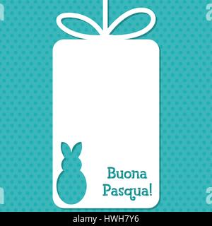 how to say happy easter in italian