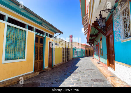 Las Penas neighborhood in the city of Guayaquil, Ecuador - Stock Photo