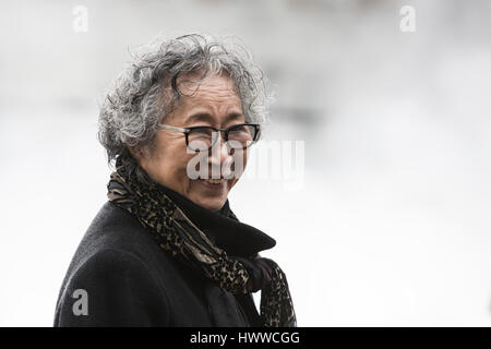 London, UK. 23rd Mar, 2017. London Fog, 2017, by Fujiko Nakaya (pictured). Tate Modern presents BMW Tate Live Exhibition: - Stock Photo