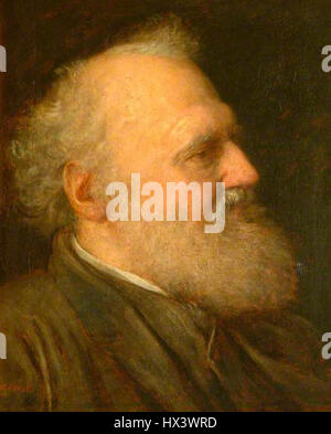 Henry Thoby Prinsep by George Frederic Watts - Stock Photo