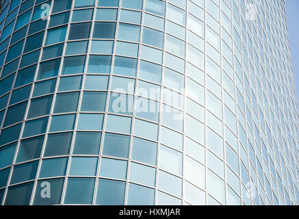 Abstract part of an office building - Stock Photo