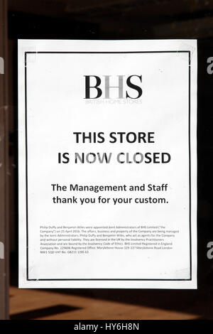 Store Wars: BHS and Marks & Spencer