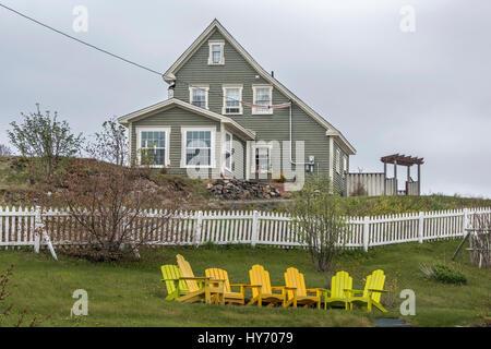Historic trinity salt box houses newfoundland stock for House plans newfoundland