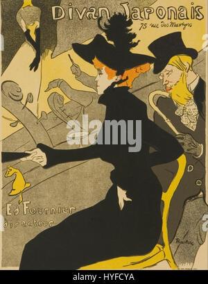 Henri de toulouse lautrec le lit 1892 xix th century orsay for Divan japonais toulouse lautrec