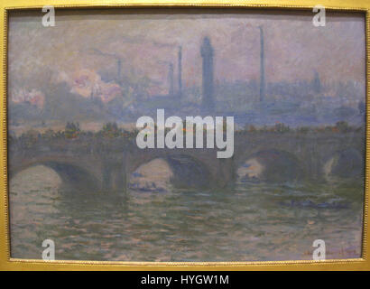 Waterloo Bridge, 1903, by Claude Monet (1840 1926)   IMG 7175 - Stock Photo